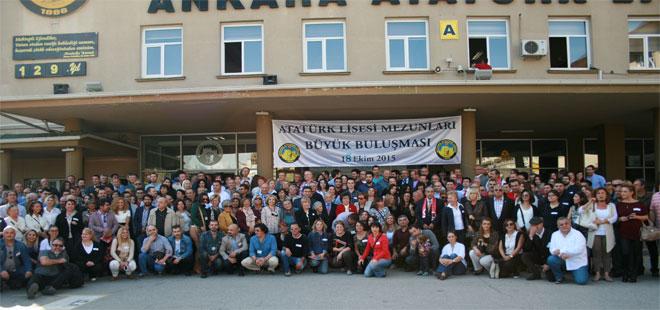 Atatürk Liseliler Büyük Buluşması Gerçekleşti
