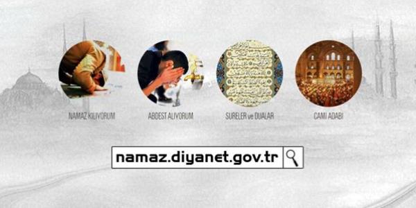 Diyanet'ten namaz'a özel internet sitesi