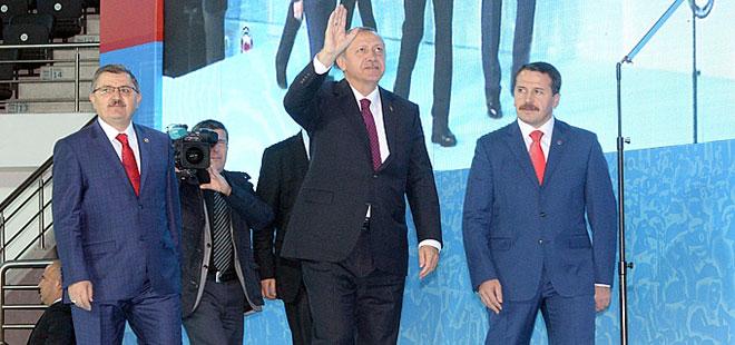 Erdoğan'dan Memur-Sen'e Övgü Dolu Sözler