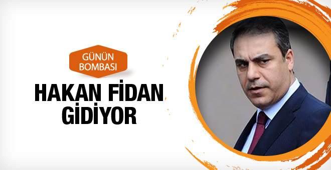 Hakan Fidan MİT'i bırakıyor işte koltuğun yeni sahibi