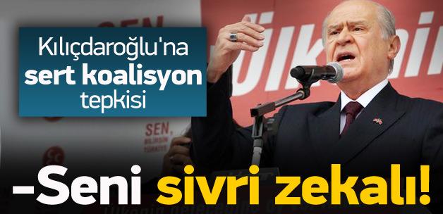Bahçeli'den Kılıçdaroğlu'na sert koalisyon tepkisi