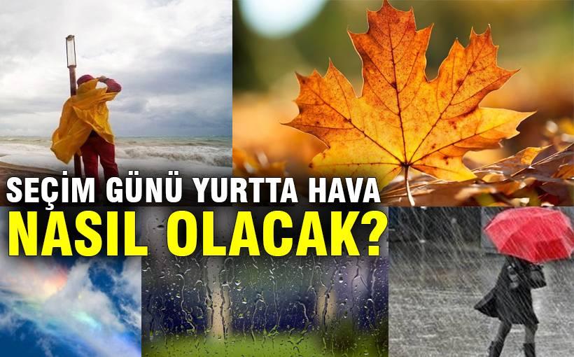 1 Kasım'da havalar nasıl olacak?