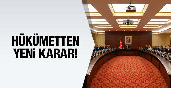 Hükümet karar verdi! 5 yeni bakanlık geliyor