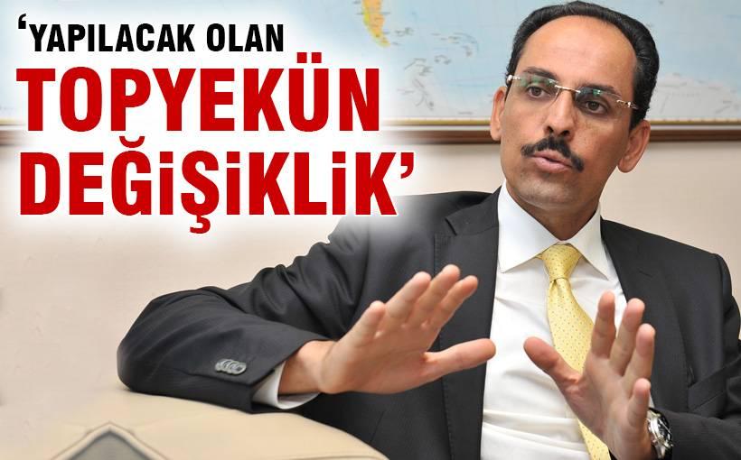 Erdoğan'ın sözcüsünden yeni anayasa açıklaması!