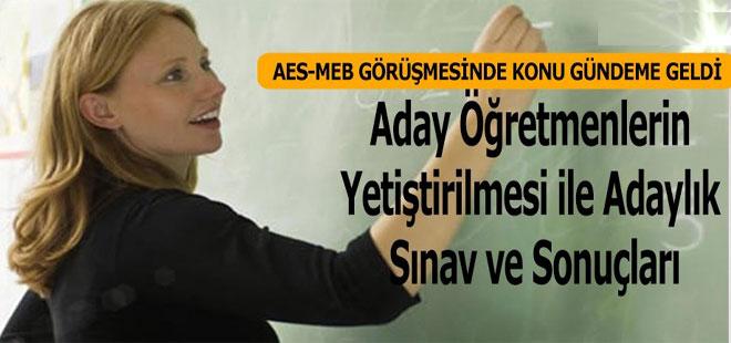 MEB Aday Öğretmenlerle İlgili Yeni Gelişme