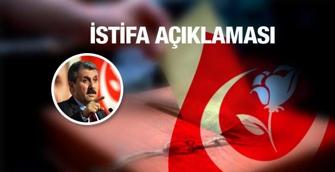 BBP'li Mustafa Destici istifa edecek mi?
