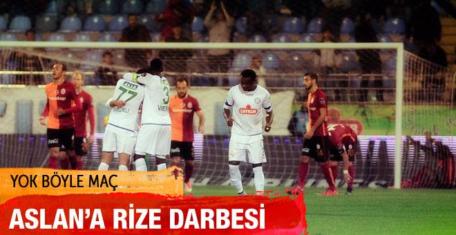 Galatasaray Çaykur Rizespor maçının sonucu ve özeti