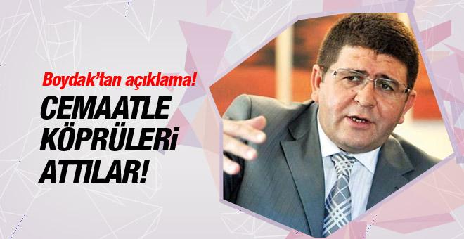 """Mustafa Boydak """"devlete bağlıyız"""""""