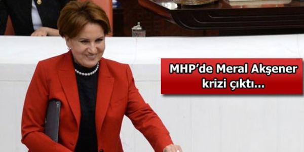 MHP'de Meral Akşener Krizi Mi?