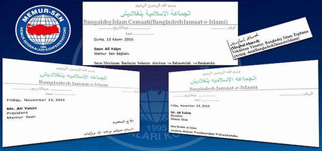 Cemaat-i İslami Genel Başkanı Ahmed'ten Memur-Sen'e Mektup