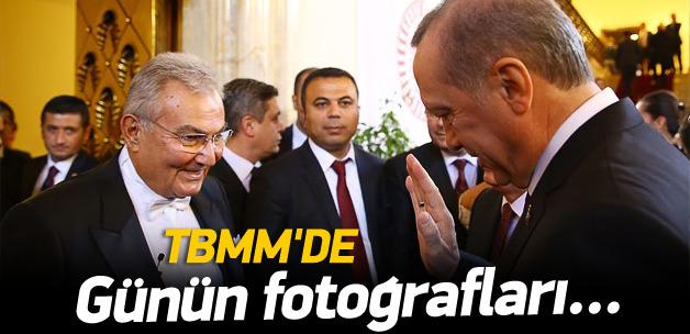 Meclis'te günün fotoğrafları