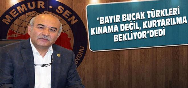 Türkmenler Kınama Değil, Kurtarılmayı Bekliyor - Mustafa Kır