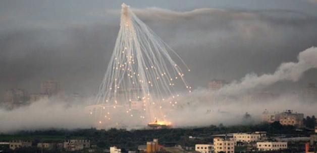 Türkmenlere misket bombası yağıyor!