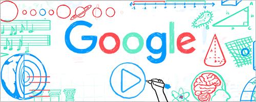 Google'den öğretmenler günü Doodle'ı