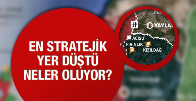 Türkmenlerden kötü haber en kritik yer düştü
