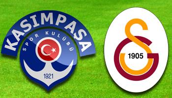 Kasımpaşa - Galatasaray CANLI ANLATIM