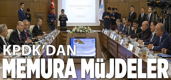 Memura müjdeler - KPDK Toplantısında Hangi Kararlar Alındı
