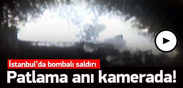 İstanbul'da patlama! İlk görüntüler - İşte İstanbul'daki patlama anı
