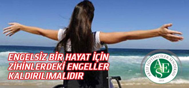 Osman Bahçe: Unutmayalım; her sağlıklı birey bir engelli adayıdır