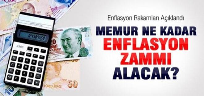 Memurun Enflasyon Zammı Ne kadar Olacak?