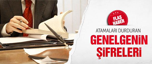 Atamalarda son durum Başbakanlık genelgesinin şifreleri
