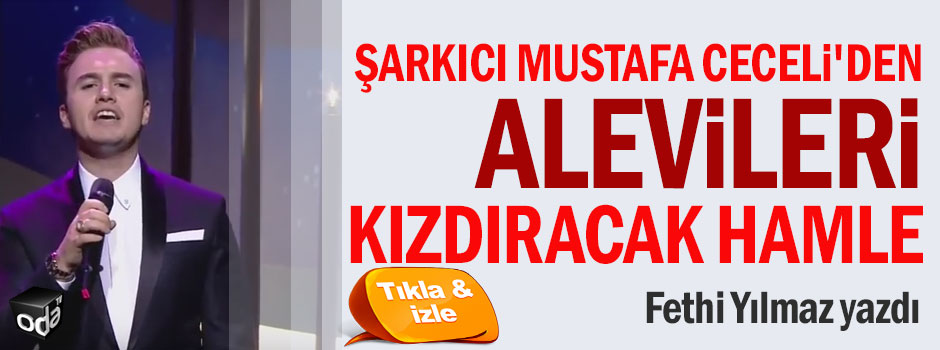 Şarkıcı Mustafa Ceceli'den Alevileri kızdıracak hamle