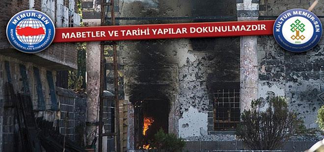 Memur-Sen'den Diyarbakır Tahribatı İçin Tepki