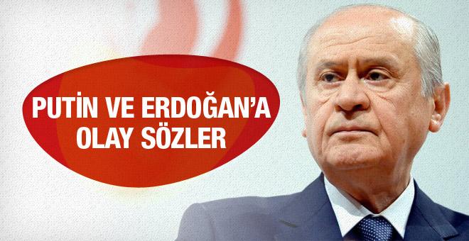 MHP lideri Devlet Bahçeli'den olay sözler