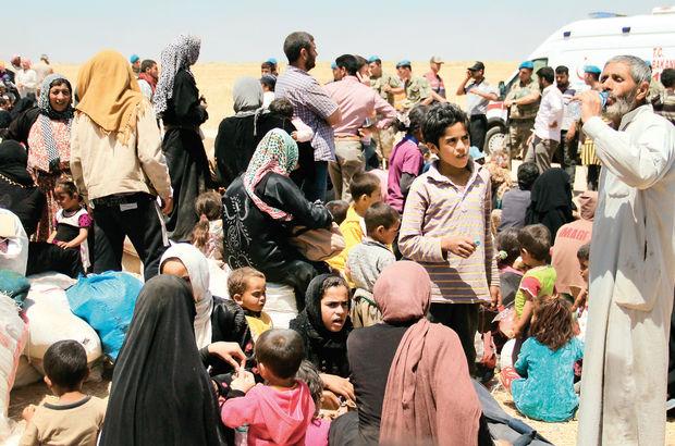 Kültür'den Türkmen ailelere destek