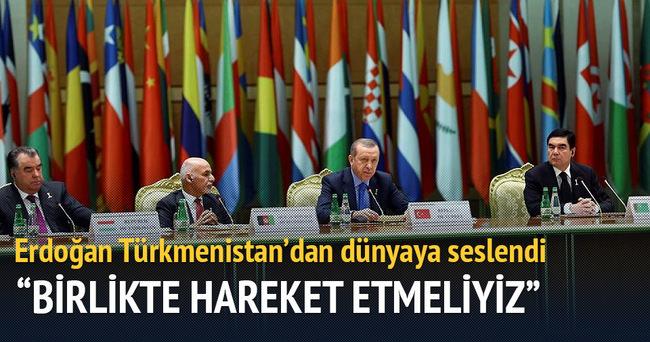 Erdoğan'dan barış ve istikrar mesajı