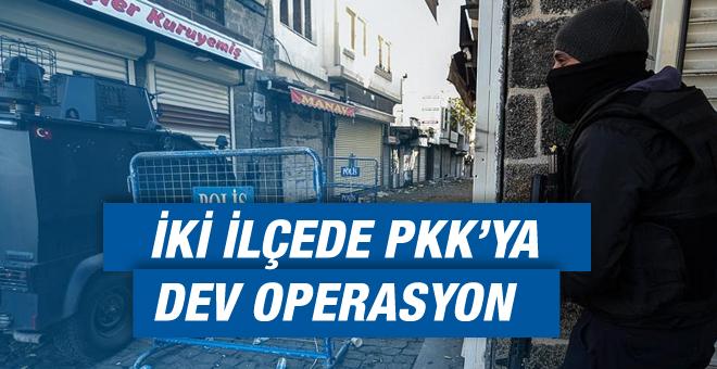 O İki İlçede PKK'ya Dev Operasyon!