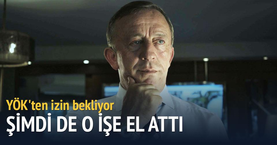 Ali Ağaoğlu eğitime el atıyor