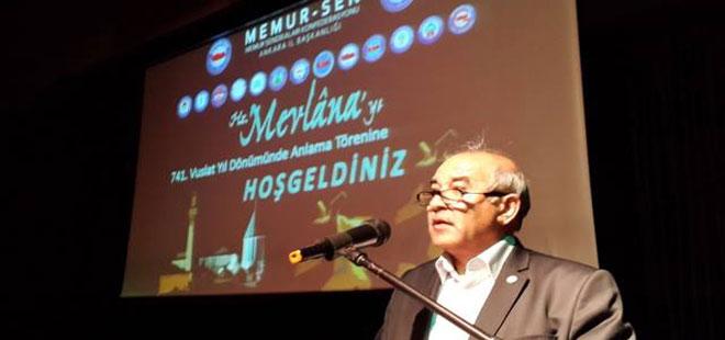 Mustafa Kır: Mevlana Folklorik Gösterilere Kurban Edilmemelidir
