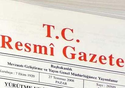 29 Kasım 2016  Resmî Gazete