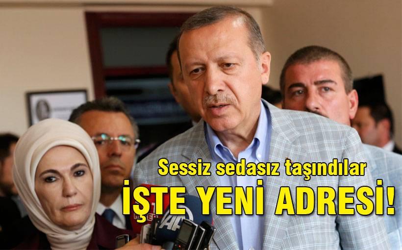 Erdoğan ikametini nereye taşıdı?