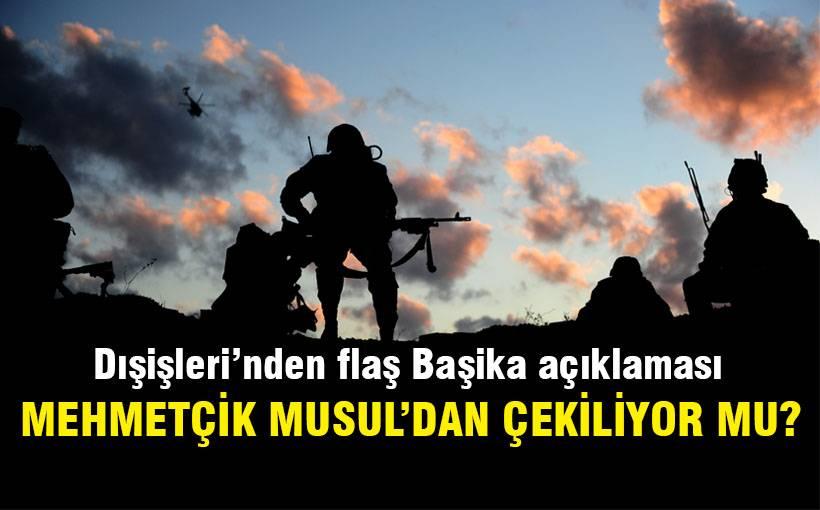 Türk Askeri Musul'dan çekiliyor mu?