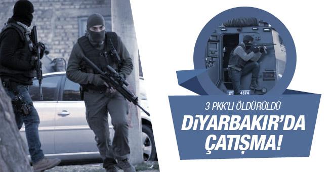 Diyarbakır'da polise saldırı! 3 PKK'lı öldürüldü