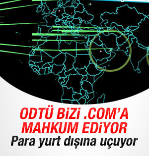 ODTÜ'nün .com direnişi
