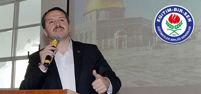 Ali Yalçın, Yetim Projesi Toplantısında Konuştu