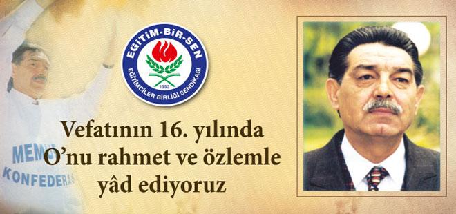 Vefatının 16. Yılında Mehmet Akif İnan Anıldı!