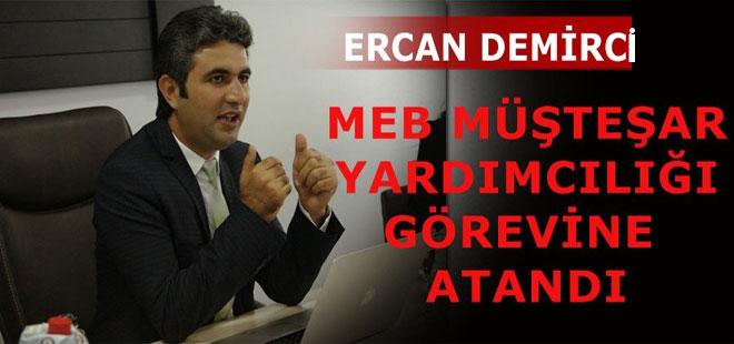 MEB'e Yeni Müsteşar Yardımcısı: Dr.Ercan Demirci