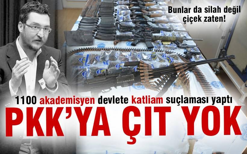 PKK terörüne kör akademisyenler