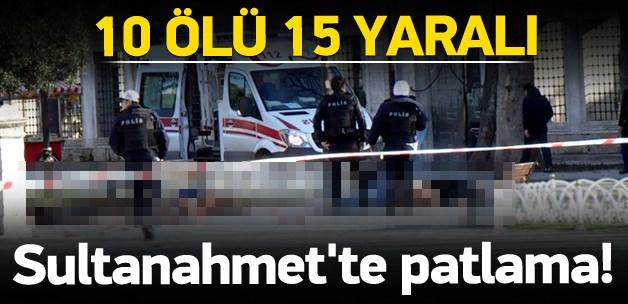 İstanbul Sultanahmet'te patlama!