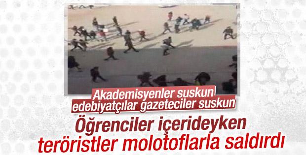PKK'lı teröristler Şırnak'ta okula saldırdı