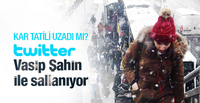 İstanbul'da 19 ocak salı okullar tatil mi? Vasip Şahin salladı