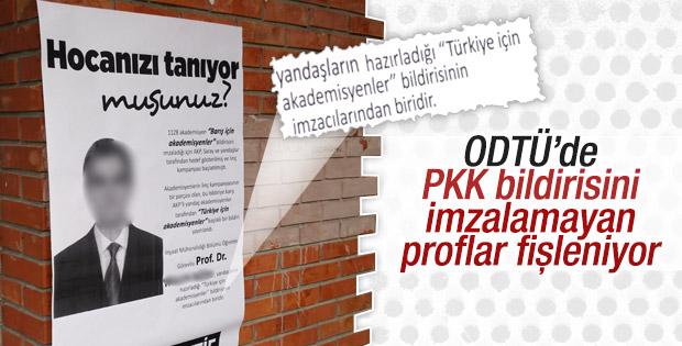 ODTÜ'de kara kampanya