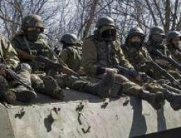Rus askeri Nusaybin sınırında