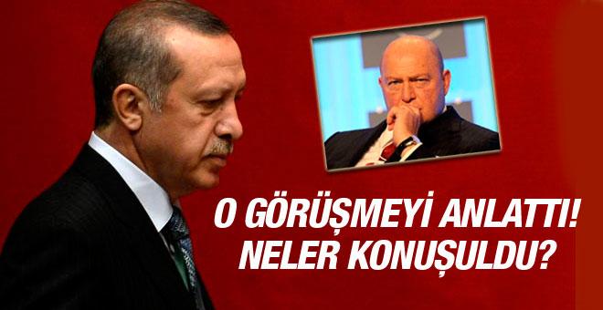 Erdoğan Mustafa Koç'la yaptığı görüşmeyi anlattı