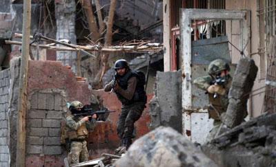 Cizre'de PKK'nın inlerine operasyon