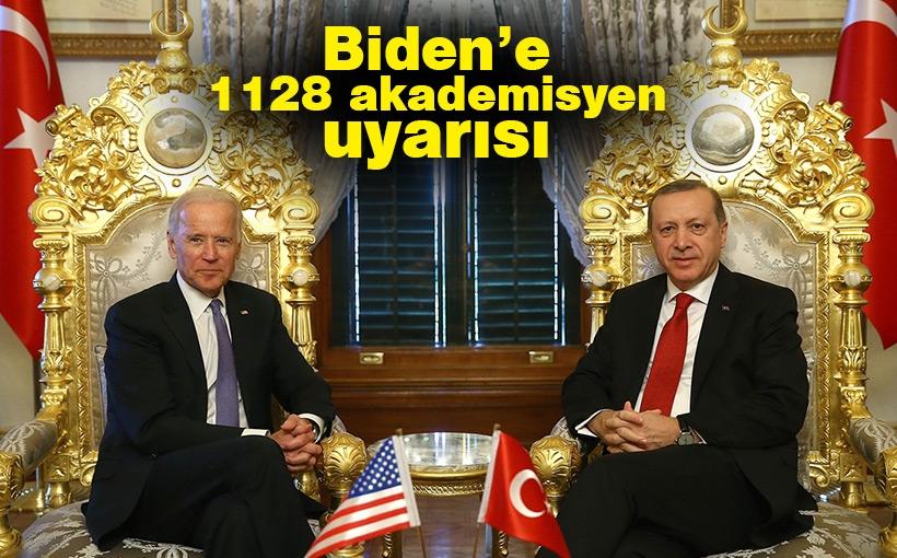 Erdoğan'dan Biden'e 1128 akademisyen uyarısı